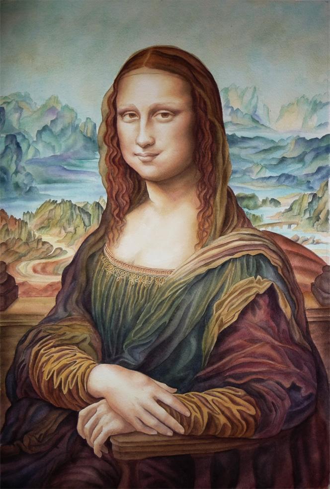 Mona Lisa by Olivier_Lerousseau